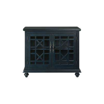 Avalon Blue Small Spaces TV Stand
