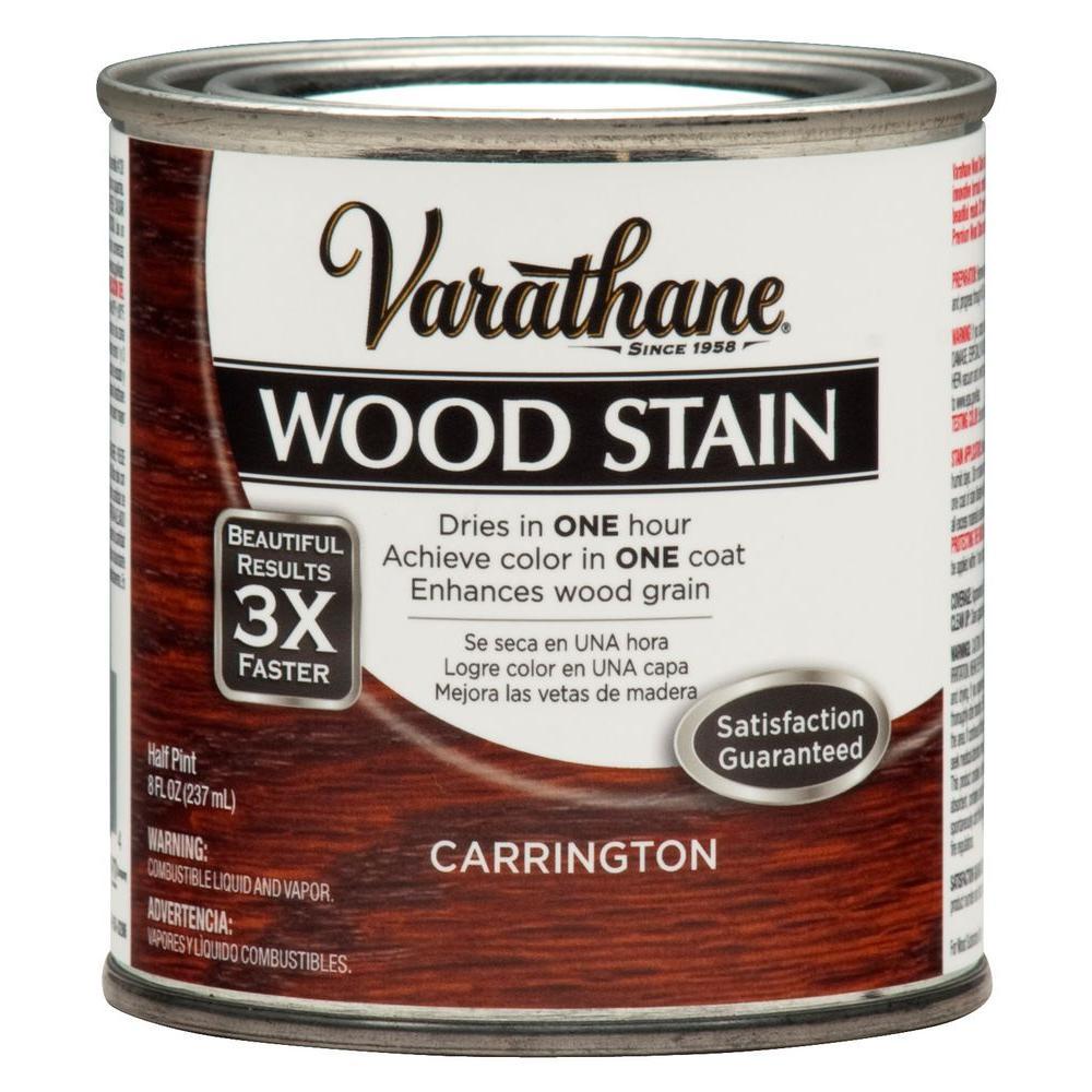 Varathane 8 Oz Premium Interior 3x Carrington Wood Interior Stain 271133 The Home Depot