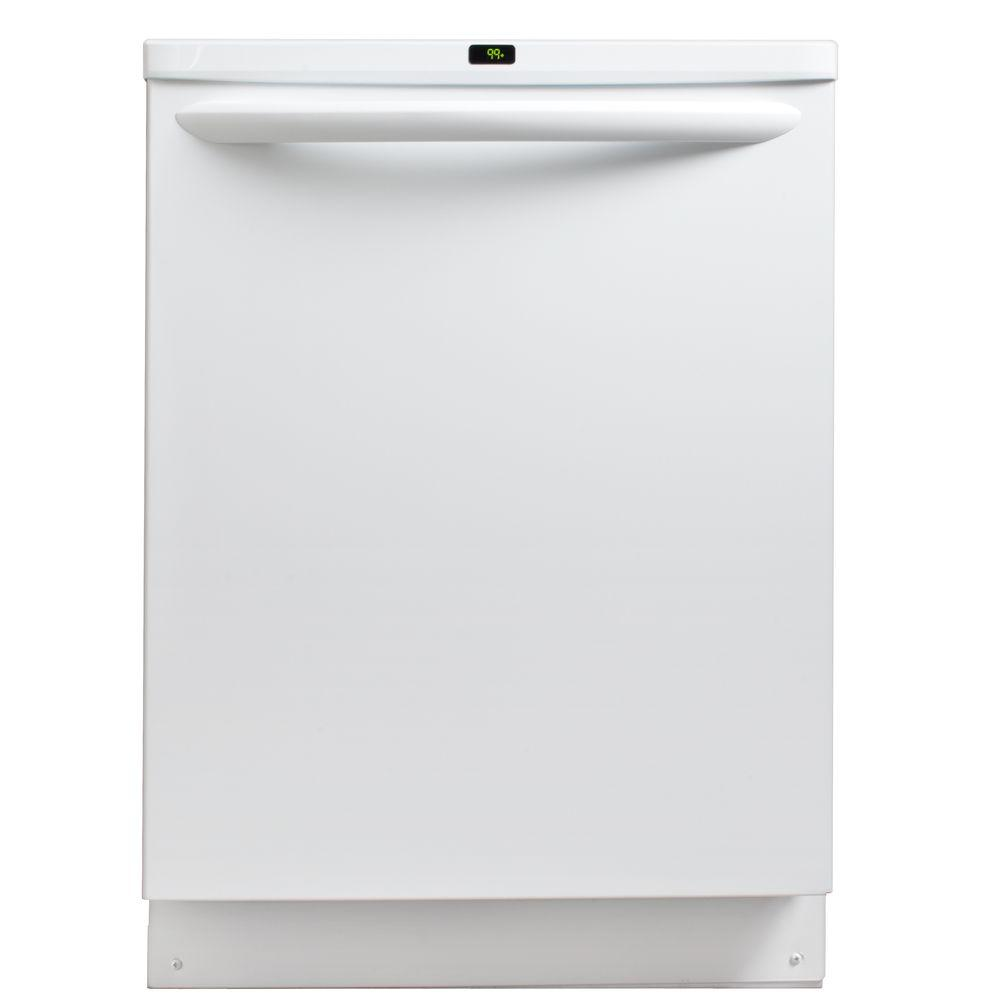 Frigidaire Gallery Top Control Dishwasher in White with OrbitClean