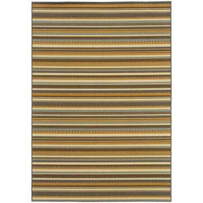 Rayas Multi 7 ft. x 10 ft. Indoor/Outdoor Area Rug