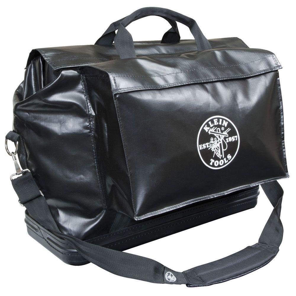 24 in. Black Vinyl Equipment Bag
