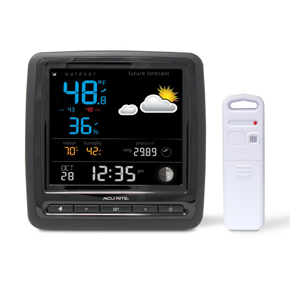 AcuRite Wireless Weather Station With Temperature, Humidity And Forecaster