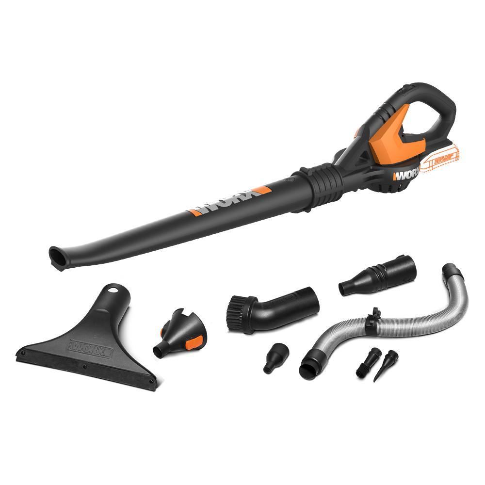 POWER SHARE 20-Volt 120 MPH 80 CFM Cordless Blower (Bare Tool)