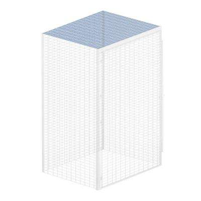 Storage Locker Option 48 in. W x 36 in. D x 0.5 in. H Top for Bulk Storage Locker in Aluminum
