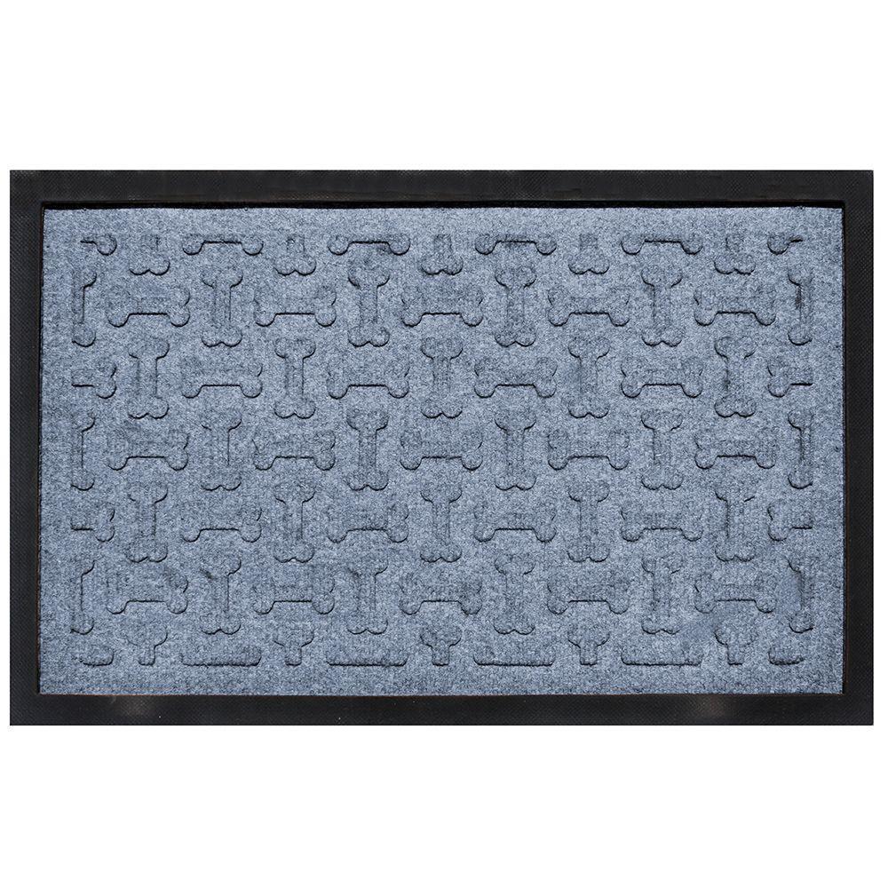 aqua shield bluestone 18 in x 27 in dog treats boot tray 20427581827 the home depot. Black Bedroom Furniture Sets. Home Design Ideas