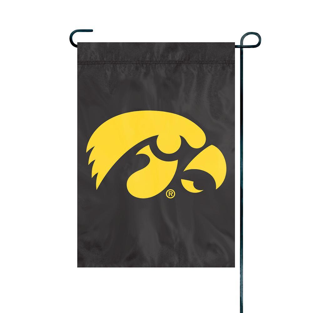 Iowa Hawkeyes Premium Garden Flag