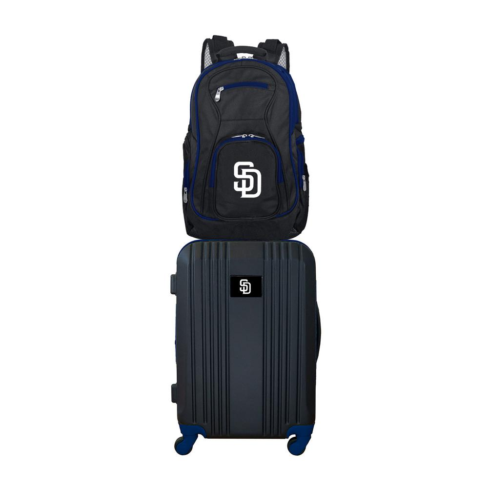 MLB San Diego Padres 2-Piece Set Luggage and Backpack