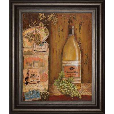 "22 in. x 26 in. ""Vintage White"" by Tava Studio Framed Printed Wall Art"