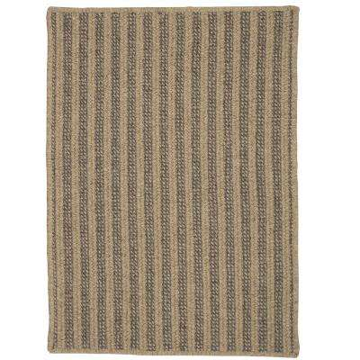 Virginia Mocha 9 ft. x 12 ft. Braided Area Rug