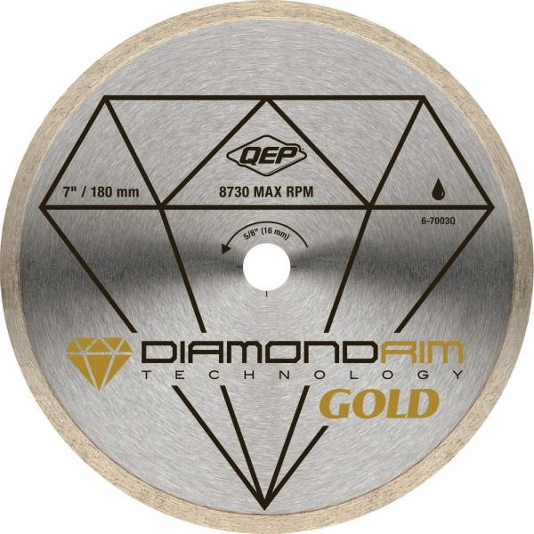 7 in. Premium Diamond Blade for Wet Cutting Porcelain and Ceramic Tile