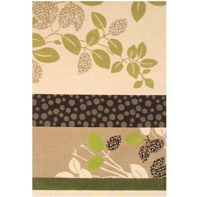 Terra Juniper Beige 7 ft. 9 in. x 10 ft. 6 in. Area Rug