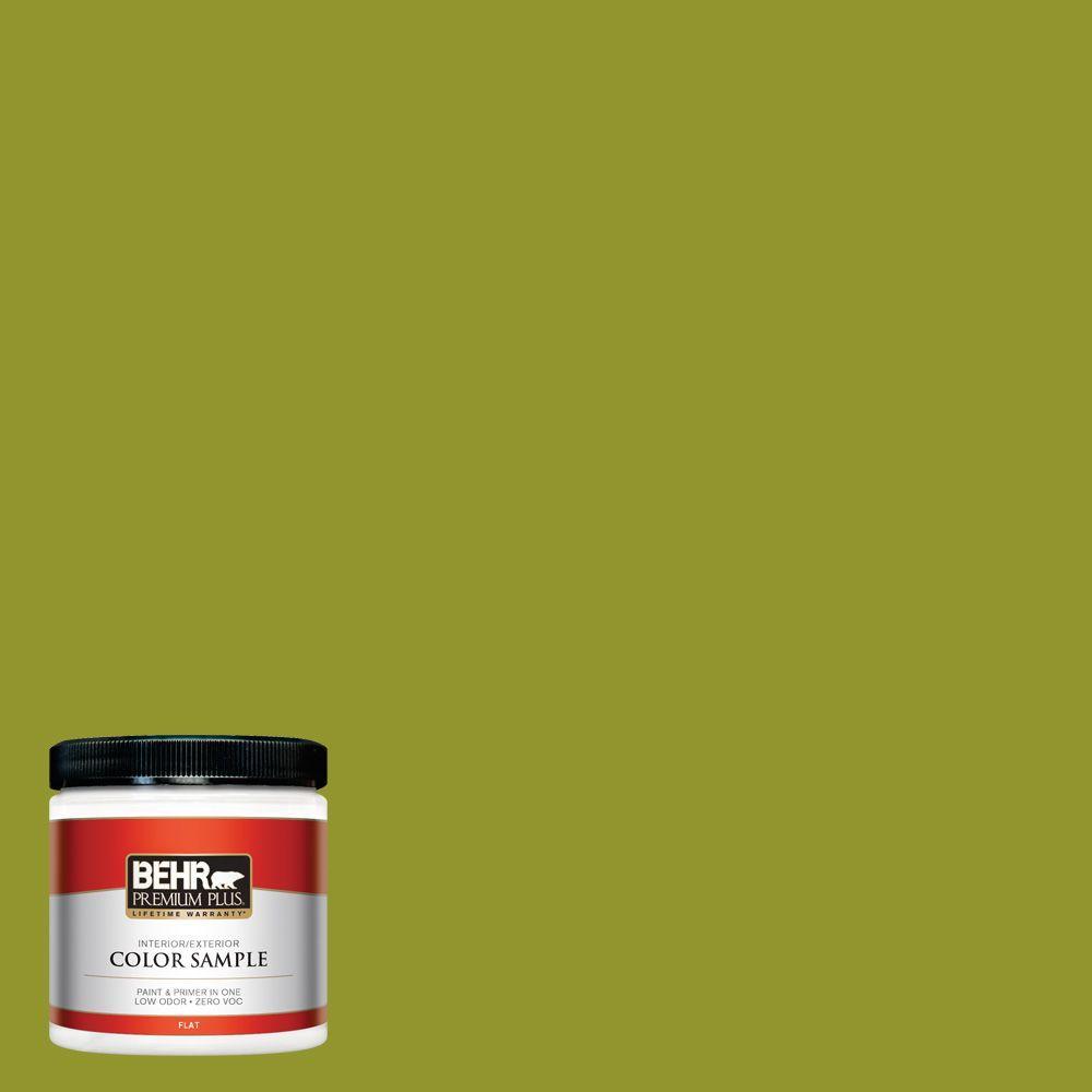 8 oz. #P350-7 Lazy Lizard Interior/Exterior Paint Sample