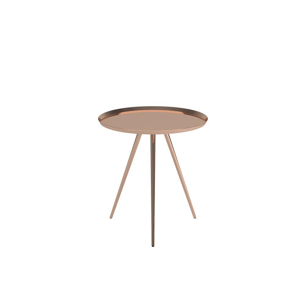 HomeSullivan Ilex Copper Accent Tables (Set Of 2)