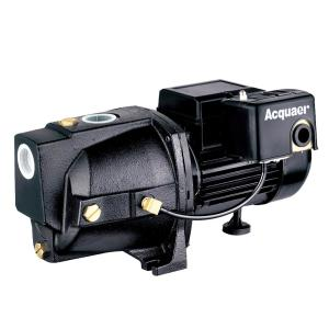Acquaer 1/2 HP Dual Voltage Cast Iron Shallow Well Jet Pump by Acquaer