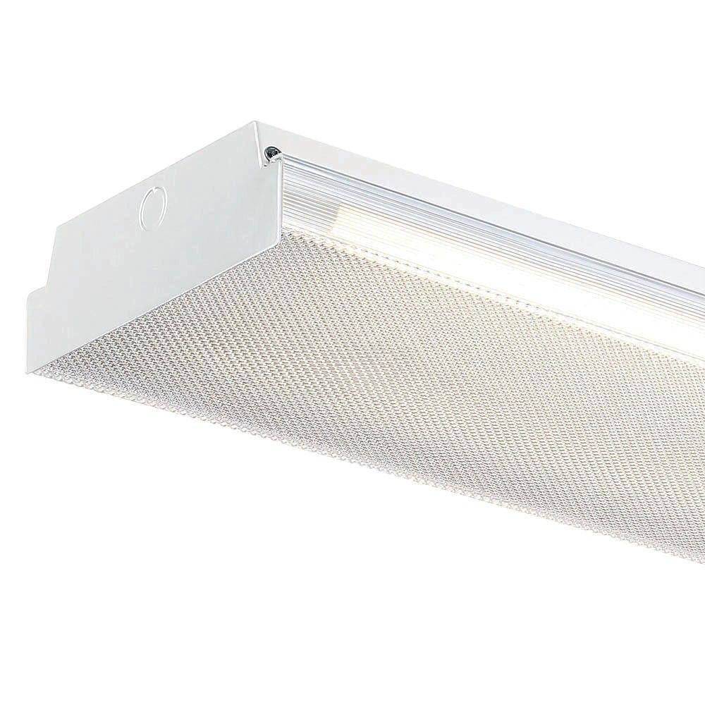 W White Led Flushmount Mv Wraparound Light With