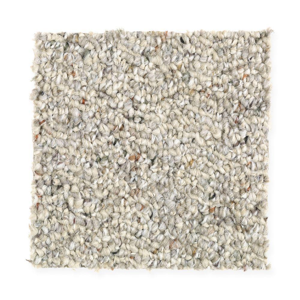 Carpet Sample - Kent - Color Safari Berber 8 in. x 8 in.