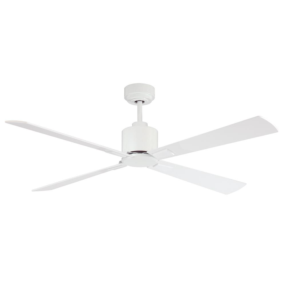 Lucci Air Airfusion Climate 52 In White Ceiling Fan With Remote Control