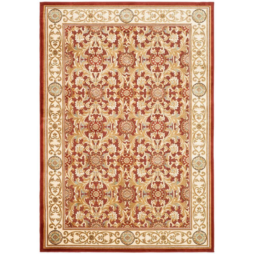 Safavieh Paradise Red 4 ft. x 5 ft. 7 in. Area Rug