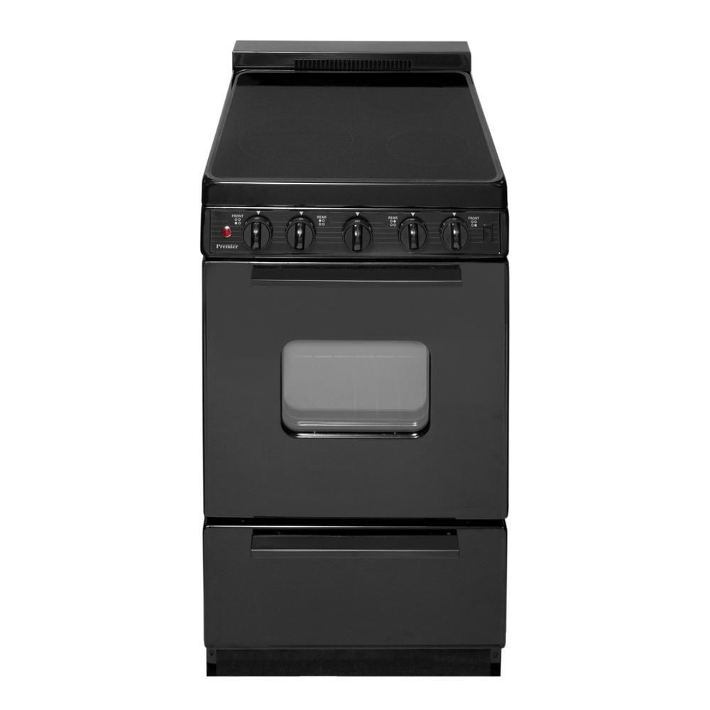 Premier 20 in. 2.42 cu. ft. Freestanding Smooth Top Elect...