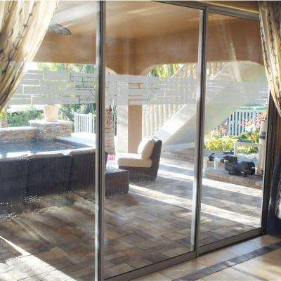 0.012 in. x 9 in. Stacked Stone Premium Glass Etch Window Film