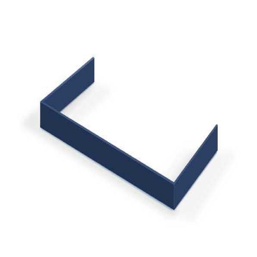 Decorative Toe Kick for 48 in. Range in Blue