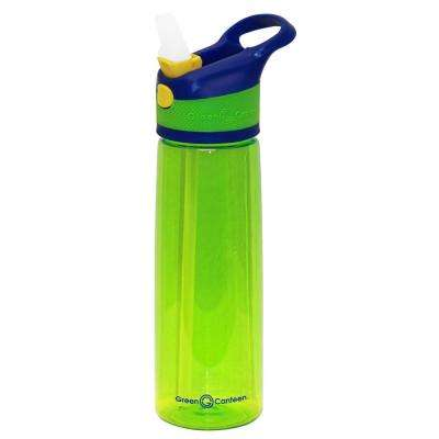 24 oz. Blue and Green Plastic Tritan Hydration Bottle (6-Pack)
