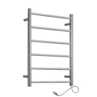 Studio 6-Bar Electric Towel Warmer in Polished Stainless Steel
