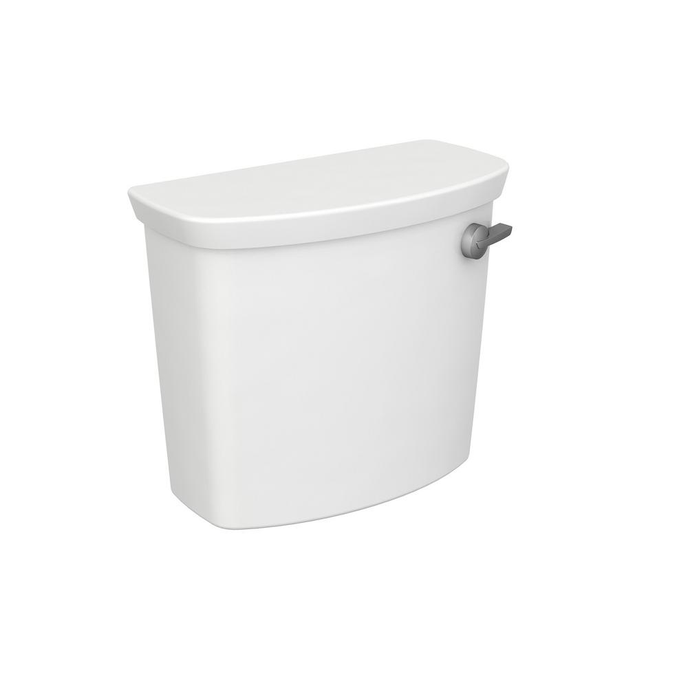 American Standard Glenwall VorMax 1.28 GPF Single Flush Toilet Tank Only with Right Hand Trip Lever in White
