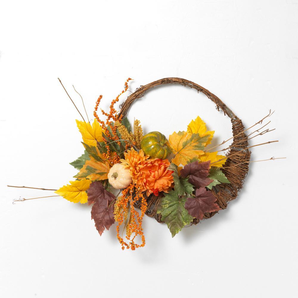 20 in. D Harvest Cornucopia