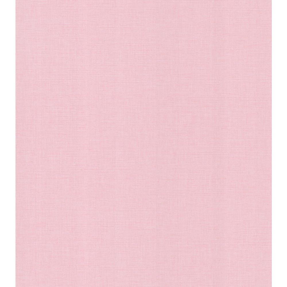 Pink Linen Texture Wallpaper Sample