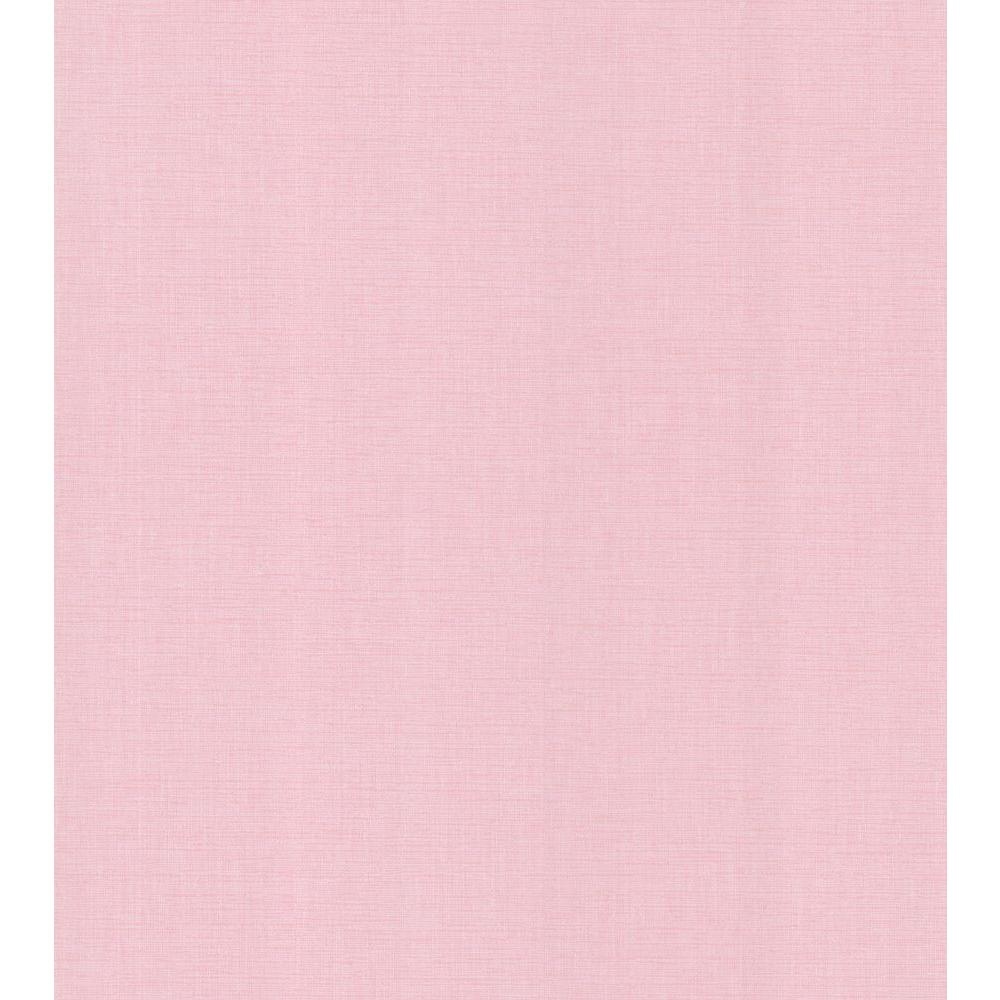 National Geographic Pink Linen Texture Wallpaper Sample