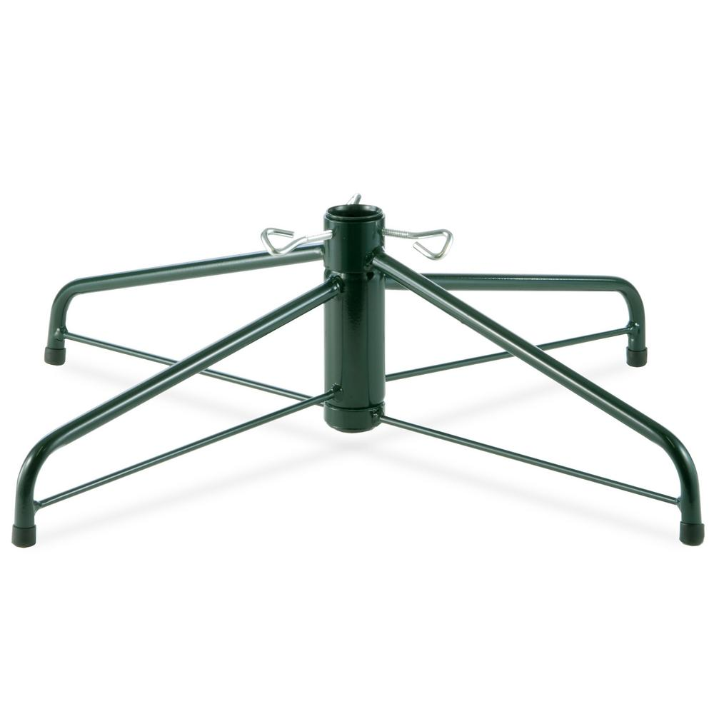 Artificial Christmas Tree Stand.National Tree Company 28 In Folding Metal Tree Stand For 7 1 2 Ft To 8 Ft Trees With 1 25 In Pole