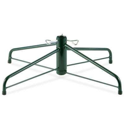 28 in. Folding Metal Tree Stand for 7-1/2 ft. to 8 ft. Trees with 1.25 in. Pole