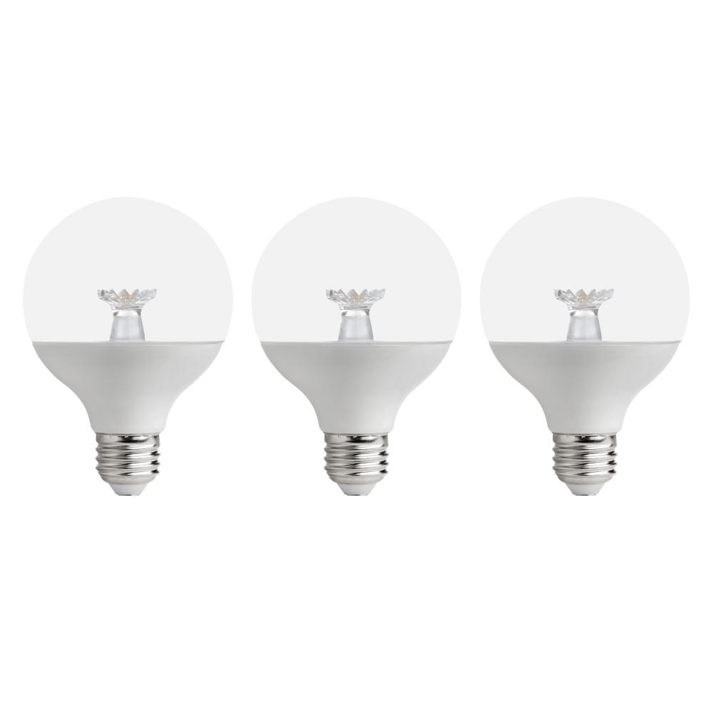This Review Is From 60 Watt Equivalent G25 Dimmable Energy Star Clear Led Light Bulb Soft White 3 Pack