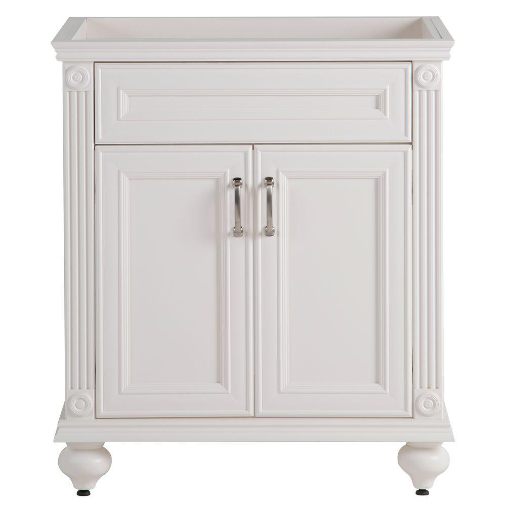 Home Decorators Collection Annakin 30 In. W Bath Vanity Cabinet Only In  Cream-AK30-CR - The Home Depot