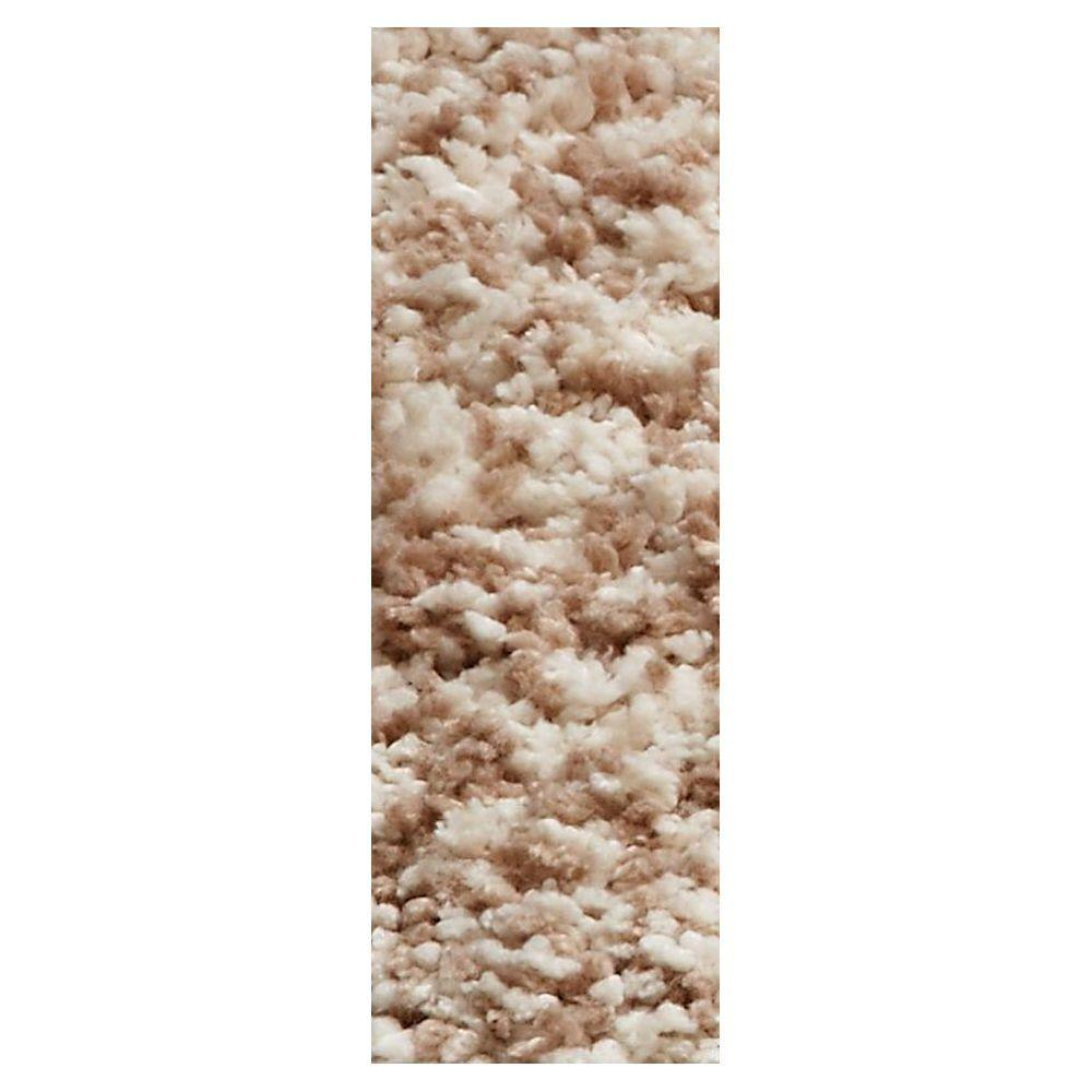Cozy Shag Ivory/Beige 2 ft. 3 in. x 7 ft. 6