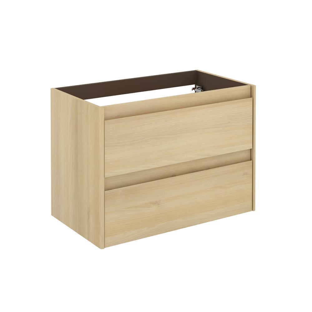 Ambra 31.1 in. W x 17.6 in. D x 21.8 in. H Bath Vanity Cabinet Only in Nordic Oak