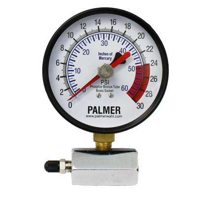 40KB 4 in. Dial Gas Test Gauge