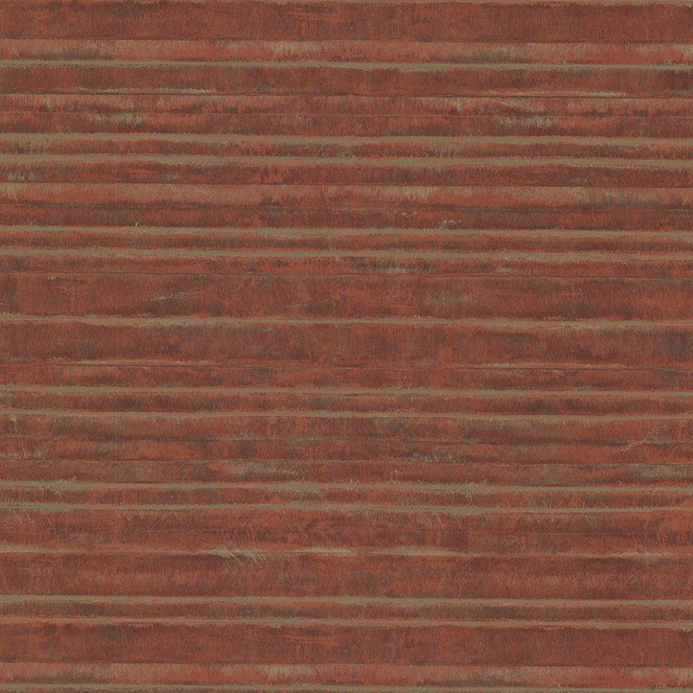 Red Horizon Stripe Texture Wallpaper