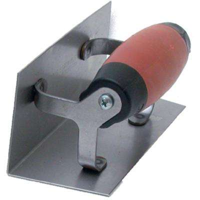 6 in. x 2-1/2 in. Inside Corner Finishing Trowel with 1/2 in. Radius Durasoft Handle