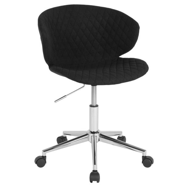 Flash Furniture Black Fabric Office/Desk Chair CGA-LF-232227-BL-HD