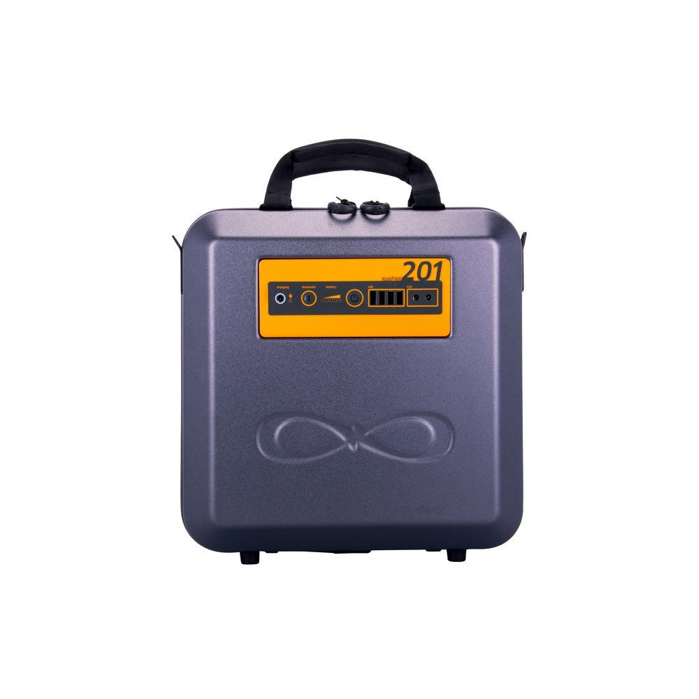 192-Watt Hour Portable Solar Generator Kit