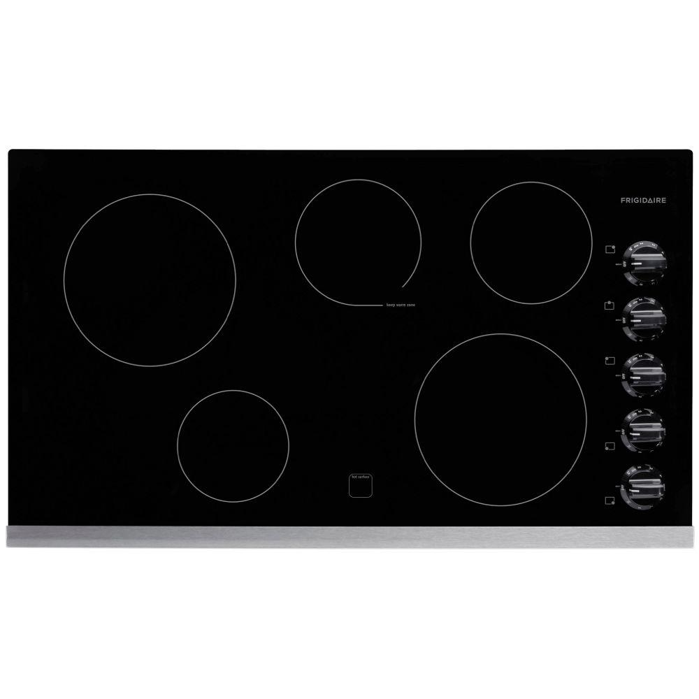 Frigidaire 36 in. Radiant Electric Cooktop in Stainless S...