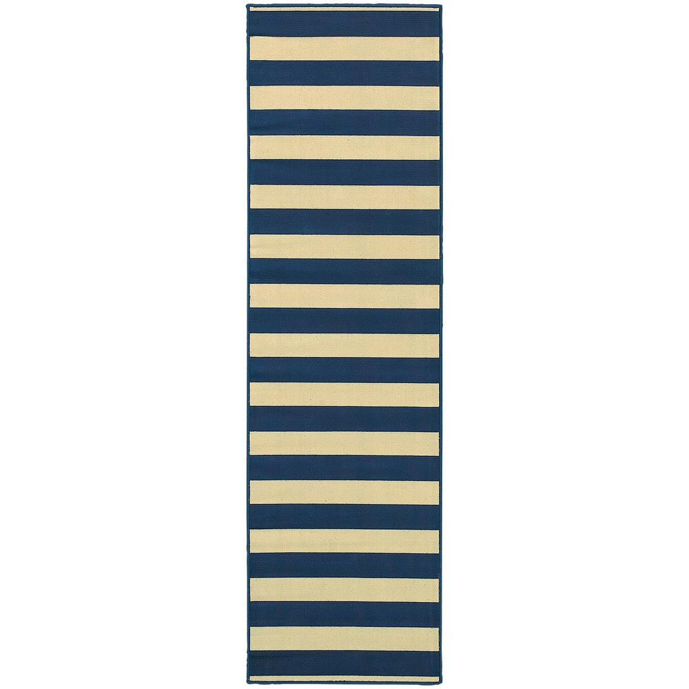 Home decorators collection nantucket navy 2 ft 3 in x 7 Home depot decor