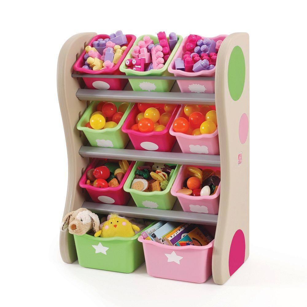 Step2 Pink Organizer Kids Box
