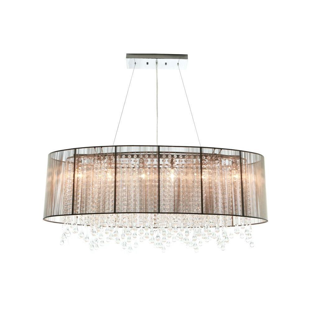 Avenue Lighting 6-Light Chrome Incandescent Ceiling Pendant