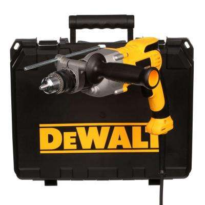 10 Amp 1/2 in. Variable Speed Reversing Pistol-Grip Hammer Drill Kit