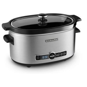 KitchenAid 6 Qt. Programmable Slow Cooker by KitchenAid