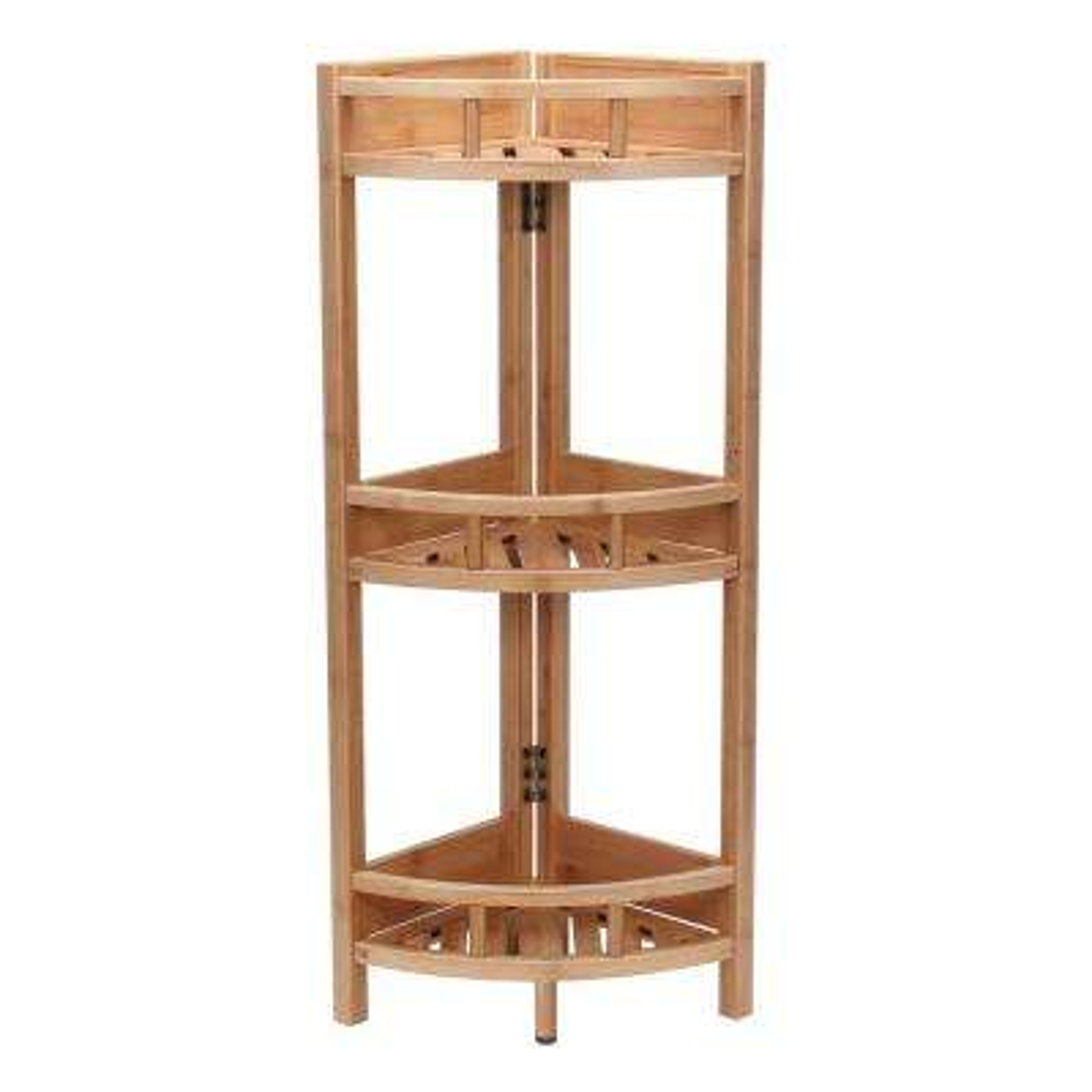 3 Shelf Corner/Bamboo Slats