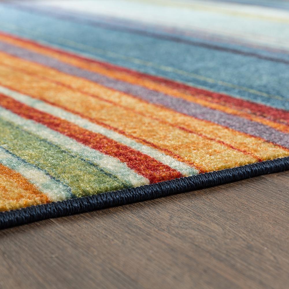 Multi 1/'8x2/'10 Mohawk Home New Wave Rainbow Printed Rug